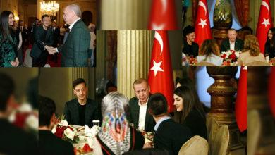 Photo of جرمن فٹ بالر مسعود اوزل کا ترک صدر کے ساتھ روزہ افطار