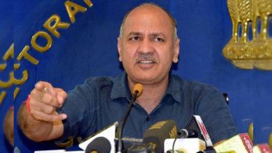 Photo of الیکشن کمیشن اور میڈیا منیش سسوديا کے نشانے پر