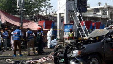 Photo of لاہور میں داتا دربار کے پاس دھماکہ، 8 افراد ہلاک دیگر 25 زخمی