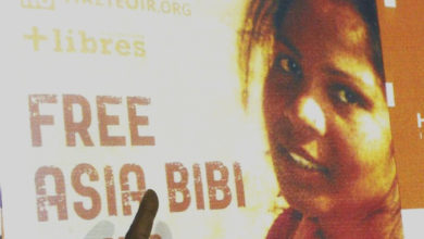 Photo of توہین رسالت کے مقدمہ سے بری ہوئیں آسیہ بی بی نے چھوڑا پاکستان، پہنچی کینیڈا