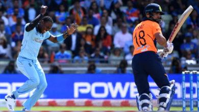 Photo of ورلڈکپ 2019: 338 کے جواب میں ٹیم انڈیا کی دھیمی شروعات