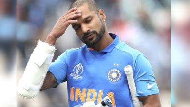 Photo of ٹیم انڈیا کو بڑا جھٹکا، شیکھر دھون ورلڈ کپ سے باہر