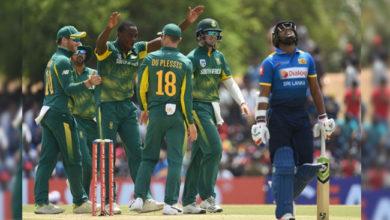 Photo of ورلڈکپ 2019: جنوبی افریقہ کی زبردست گیندبازی، سری لنکا بیک فوٹ پر