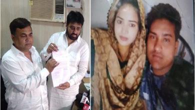 Photo of نفرت کی بھینٹ چڑھے تبریز انصاری کی بیوہ کی مدد کیلئے آگے آیا دہلی وقف بورڈ