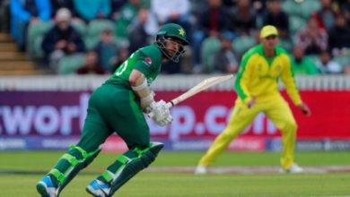 Photo of ورلڈ کپ 2019: پاکستان کی خراب شروعات، 60 رن پر 2 کھلاڑی آؤٹ