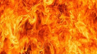Photo of شیو مندر آگ سے تباہ، چاندی کی مورتیاں و دیگر چیزیں جل کر راکھ
