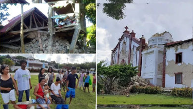 Photo of فلپائن میں زلزلے کے شدید جھٹکے، 8 افراد کی موت