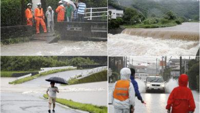 Photo of جاپان: بارش کا قہر، لاکھوں افراد گھر چھوڑنے پر مجبور