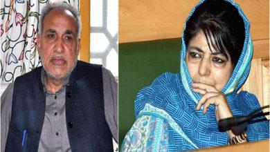 Photo of محبوبہ مفتی کو جھٹکا، پی ڈی پی سے محمد خلیل مستعفی
