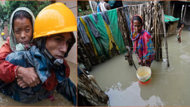 Photo of نیپال میں سیلاب نے مچائی تباہی، 32 افراد ہلاک 17 لاپتہ