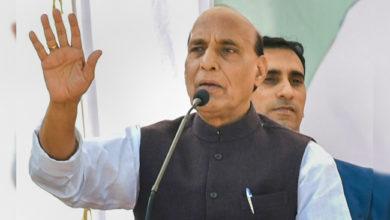 Photo of دنیا کی کوئی طاقت ہمیں کشمیر کے مسئلے کو حل کرنے سے نہیں روک سکتی: راجناتھ سنگھ