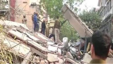 Photo of صدر بازار میں عمارت منہدم ، کوئی جانی نقصان نہیں