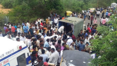 Photo of کرناٹک میں آٹو رکشہ اور بس کے درمیان تصادم، 12 ہلاک 20 زخمی