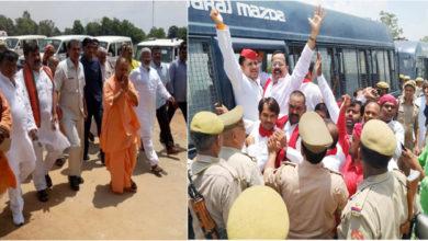 Photo of سونبھدر قتل معاملہ: متاثرین سے یوگی کی ملاقات، ایس پی۔کانگریس کارکنان گرفتار
