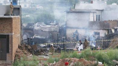 Photo of راولپنڈی میں فوجی طیارہ حادثے کا شکار ، 12  کی موت