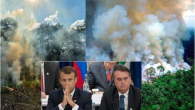 Photo of 'آمیزن' میں آتشزدگی پر عالمی برادری کی چیخ