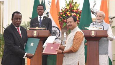 Photo of ہندوستان اور زامبیا کے درمیان کئی معاہدوں پر دستخط