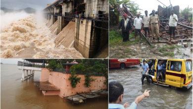 Photo of کرناٹک: 10 اضلاع میں سیلابی صورتحال، 5 افراد ہلاک
