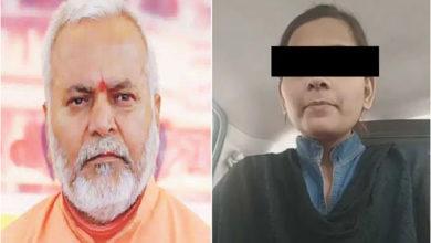 Photo of چنمیانند پر الزام لگانے والی طالبہ کے والدین پہنچے دہلی