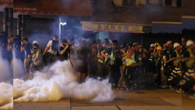 Photo of ہانگ کانگ میں مظاہرین مشتعل، ٹرین خدمات متاثر