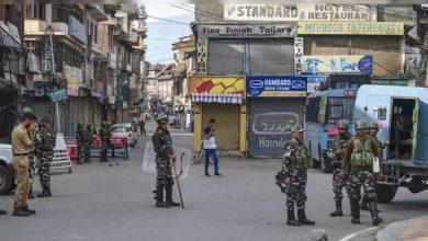 Photo of کشمیر: بند کا 39 واں دن، موبائل فون و انٹرنیٹ خدمات بدستور معطل