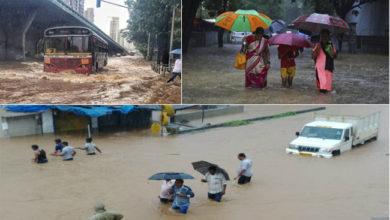 Photo of ممبئی میں موسلہ دھار بارش سے معمولات زندگی متاثر، ایلرٹ جاری