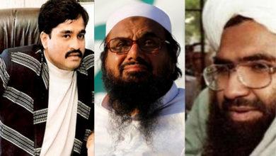 Photo of حافظ سعید، مسعود اظہر اور داؤد ابراہیم یو اے پی اے کے تحت دہشت گرد قرار