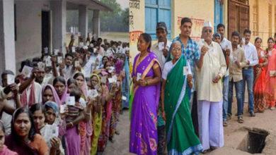 Photo of ہریانہ میں دو بجے تک 37.12 اور مہاراشٹر میں 30.72 فیصد ووٹنگ