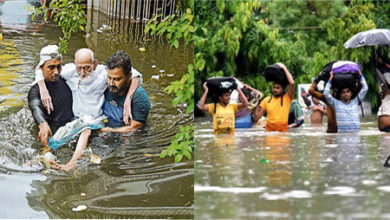 Photo of بہار: 9 ندیاں خطرے کے نشان سے اوپر، 15 اضلاع میں سیلاب، 55 کی موت