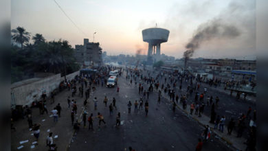 Photo of عراق میں حکومت مخالف مظاہرہ، ایران نے بند کیا سرحدی کراسنگ پوائنٹ