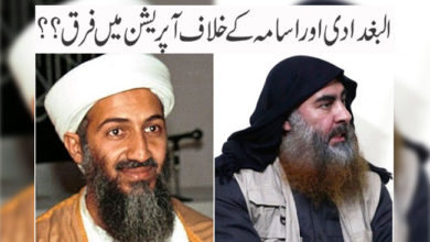 Photo of البغدادی اور اسامہ کے خلاف آپریشن میں فرق؟؟
