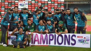 Photo of پاکستان نے سری لنکا سے جیتی سیریز