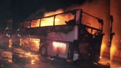 Photo of مدینہ منورہ کے قریب اندوہناک بس حادثہ، 35 عمرہ زائرین جاں بحق