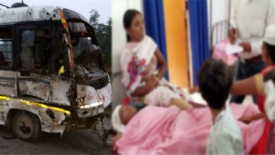Photo of تیرتھ یاتریوں کی بس حادثہ کا شکار، دو خواتین سمیت تین ہلاک، 21 زخمی