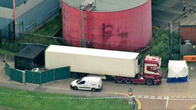 Photo of ٹرک کنٹینر سے نکلیں 39 لاشیں، پولیس کے اڑے ہوش