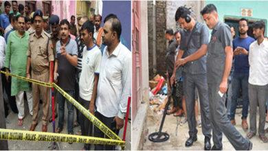Photo of ممبر اسمبلی کے گھر کے قریب دھماکہ، کئی مکان تباہ