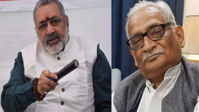 Photo of بدنام نہ کریں، کسی بھی فساد میں شامل نہیں ہوتے ہیں ہندو: گری راج سنگھ