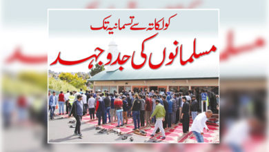 Photo of کولکاتہ سے تسمانیہ تک…مسلمانوں کی جدوجہد
