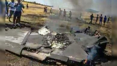 Photo of پرندوں سے ٹکرا کر جنگی جہاز مگ-29 حادثہ کا شکار، پائلٹ محفوظ