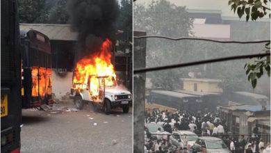 Photo of دہلی: تیس ہزاری کورٹ میں پولیس اور وکیلوں میں جھڑپ، وکیل زخمی