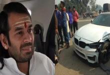 Photo of لالو کے بیٹے تیج پرتاپ کی کار حادثہ کا شکار