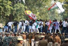 Photo of گاندھی خاندان کی ایس پی جی سکیورٹی ہٹائے جانے پر یوتھ کانگریس کا احتجاج