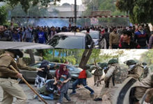 Photo of شہریت ترمیمی قانون: جامعہ میں مظاہرین پر پولیس کا لاٹھی چارج، کئی زخمی