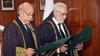 Photo of پاکستان کے نئے چیف جسٹس بنے جسٹس گلزار احمد