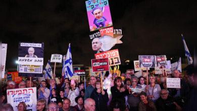 Photo of اسرائیل میں نیتن یاہو کے استعفی کیلئے احتجاج و مظاہرہ