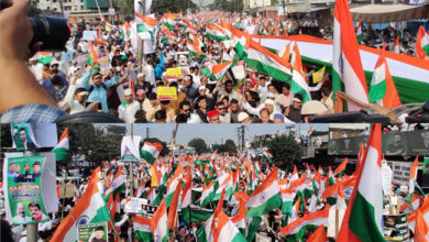 Photo of حیدرآباد: سی اے اے کے خلاف ترنگا ریلی، سیاہ قانون کو واپس لینے کا مطالبہ