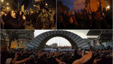 Photo of ایران: سپریم کمانڈر سے استعفے کا مطالبہ، دوسرے روز بھی جاری ہیں مظاہرے