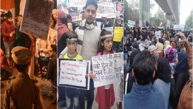 Photo of تحریک آزادی کی طرح جامعہ اور شاہین باغ کی سڑک پر جاری ہے 'ستیہ گرہ'