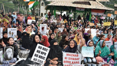 Photo of 'پارک سرکس میدان' بنا کولکاتا کا 'شاہین باغ'، خواتین کا احتجاج جاری