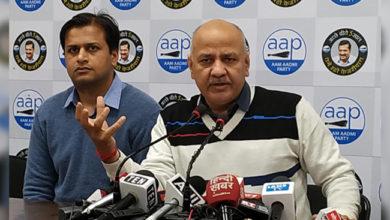 Photo of دہلی الیکشن دو جماعتوں کا نہیں بلکہ دو نظریات کے بیچ ہے:  منیش سسودیا
